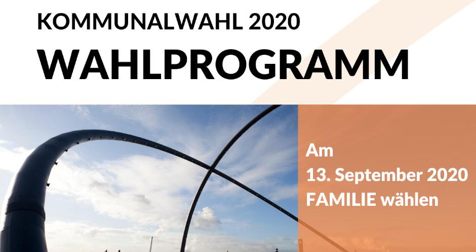 Kommunalwahlprogramm 2020